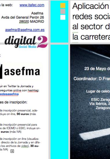 II Jornada Redes Sociales (acceso online)