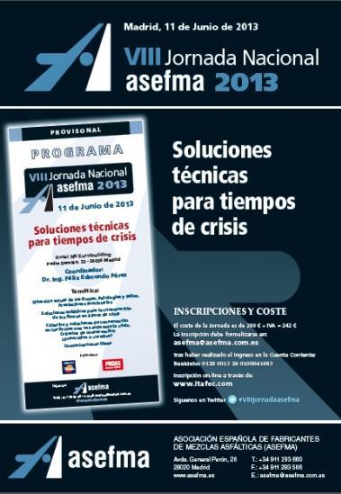 VIII Jornada Nacional de Asefma