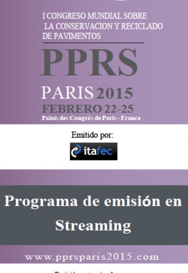 Exclusivo para México. PPRS Paris 2015, patrocinado por AMAAC