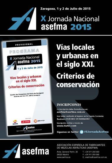 X Jornada Nacional de Asefma s