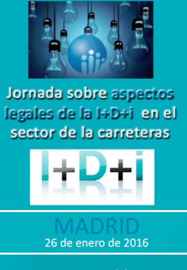 Aspectos legales de la I+D+i en el sector de las carreteras
