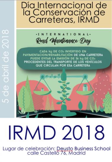 Jornada IRMD 2018 Madrid