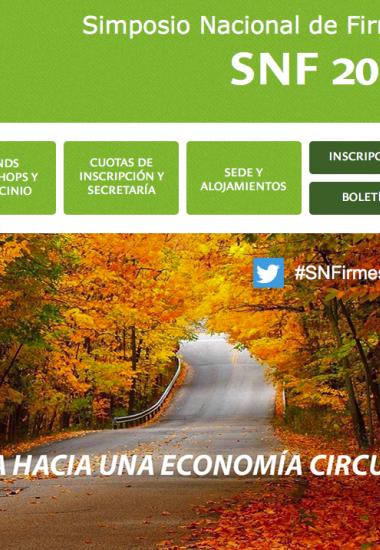 Simposio Nacional de Firmes (SNF2018)