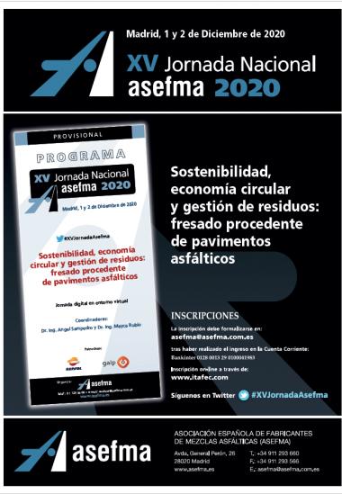 XV Jornada Nacional de Asefma