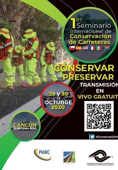 1er Seminario Internacional de Conservación de Carreteras