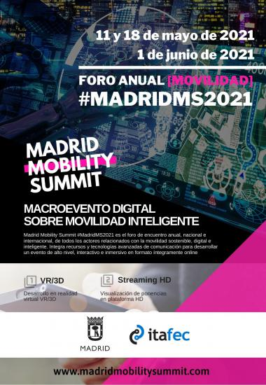 Madrid Mobility Summit 2021, 18 de mayo