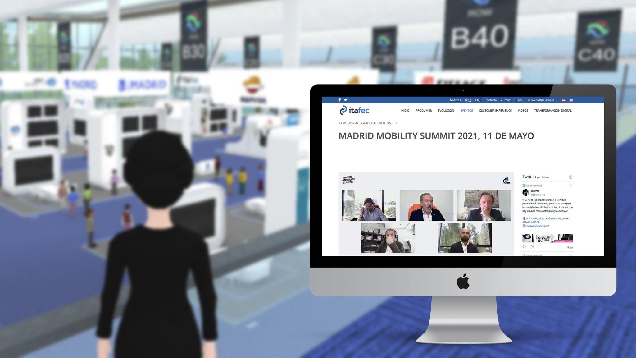 La primera jornada de Madrid Mobility Summit alcanza una audiencia online superior a las 800 mil personas