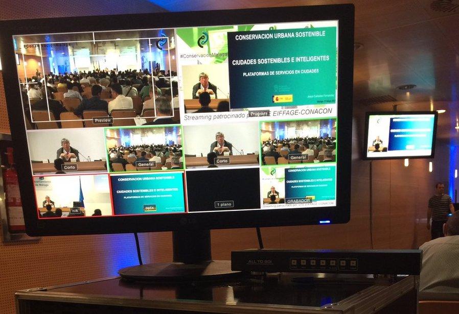 La IV Jornada de Conservación viaria del Ayuntamiento de Málaga registra una audiencia online superior a los 276 mil usuarios