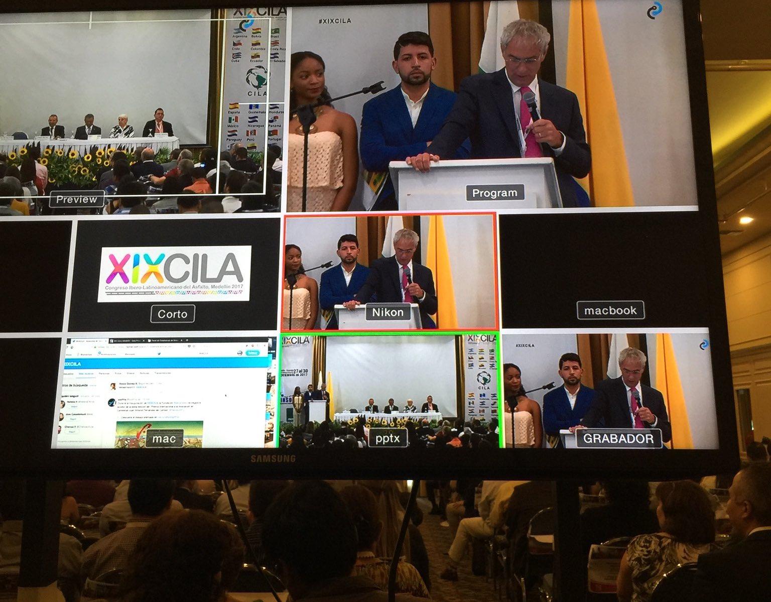 EL XIX Congreso Ibero Latinoamericano del Asfalto bate su récord histórico de alcance online y supera los 6,6 millones de impresiones