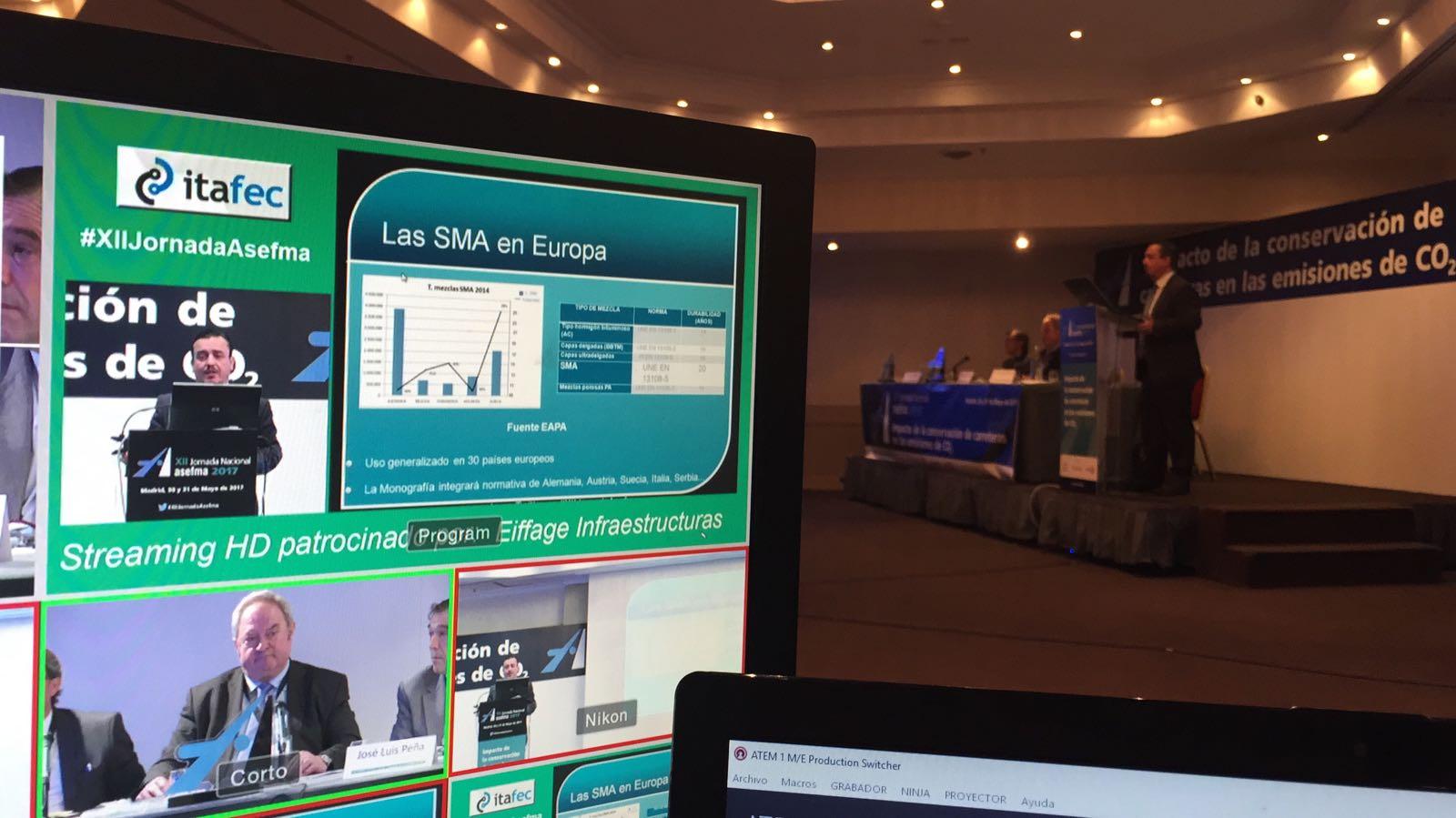 La XII Jornada Nacional de ASEFMA registra una audiencia online superior a los 660 mil usuarios