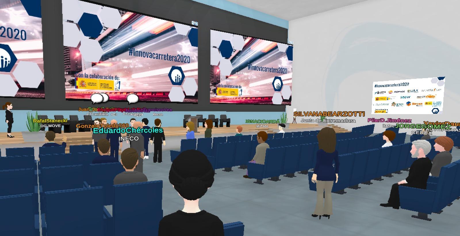 La sexta edición de la feria de demostración tecnológica Innovacarretera 2020 alcanza una audiencia superior a los 400 mil usuarios