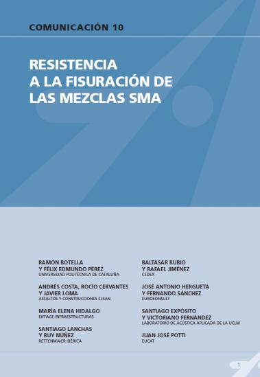Resistencia a la fisuración de las mezclas SMA