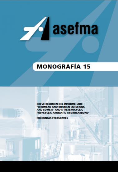 """Monografía 15 de Asefma """"Breve resumen del informe IARC"""""""