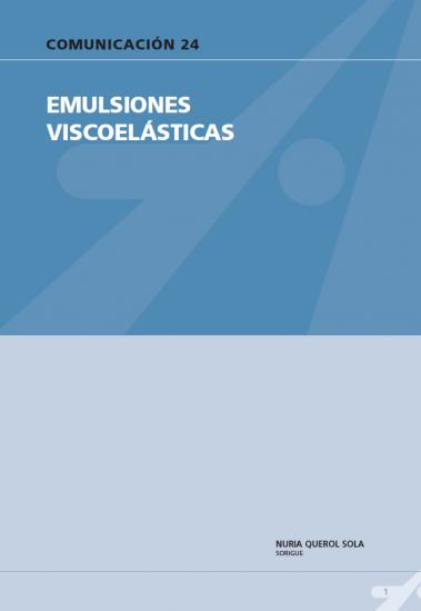 Emulsiones viscoelásticas