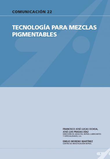 Tecnología para mezclas pigmentarias
