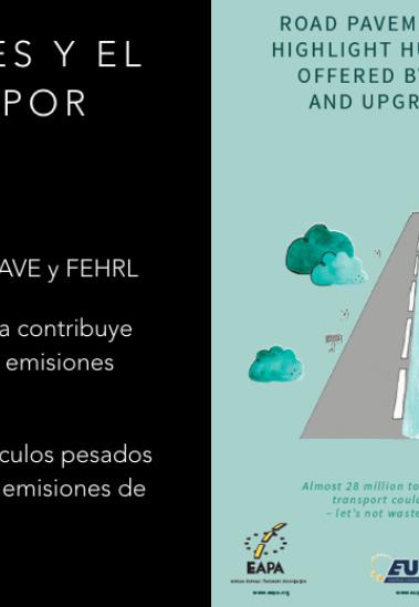 Las emisiones de CO2 y el estado de conservación de las carreteras