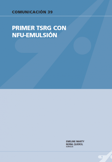 Primer TSRG con NFU-emulsion