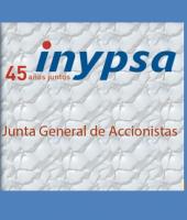 Junta General 2016 de Accionistas de Inypsa