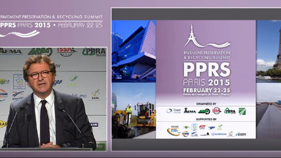 Discurso oficial de Bruno Cavagné, Presidente de la FNTP (Fédération Nationale des Travaux Publics)