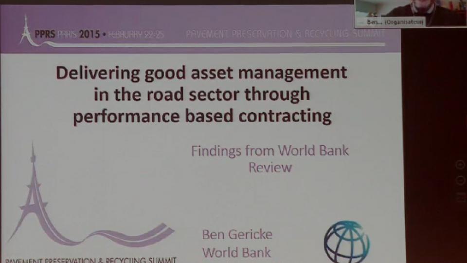 Contratos de prestaciones: impacto positivo en la gestión de los activos viales