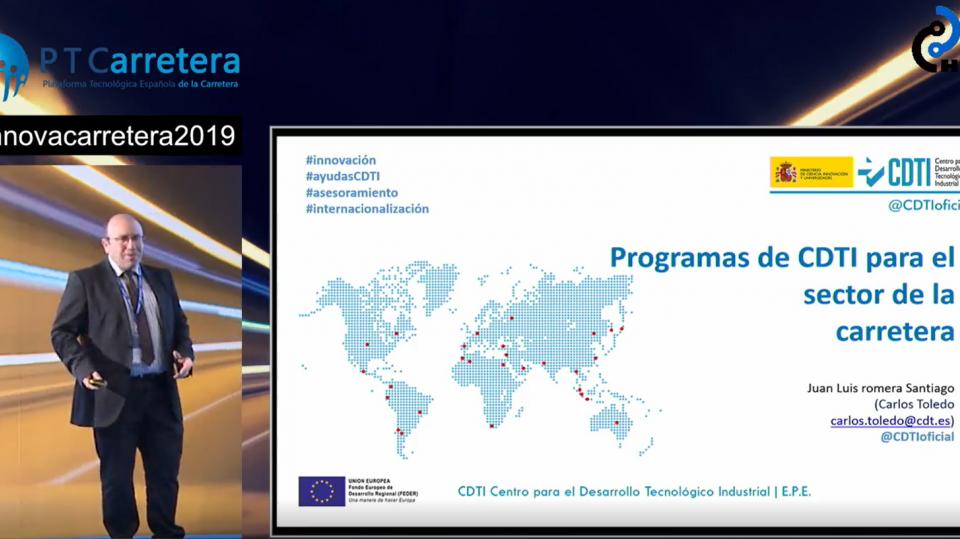 Programas de CDTI para el sector de la carretera