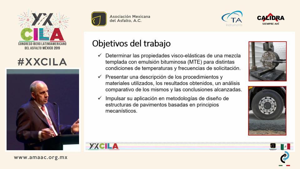 DETERMINACIÓN DE LAS PROPIEDADES VISCO-ELÁSTICAS DE UNA MEZCLA TEMPLADA CON EMULSIÓN ASFÁLTICA