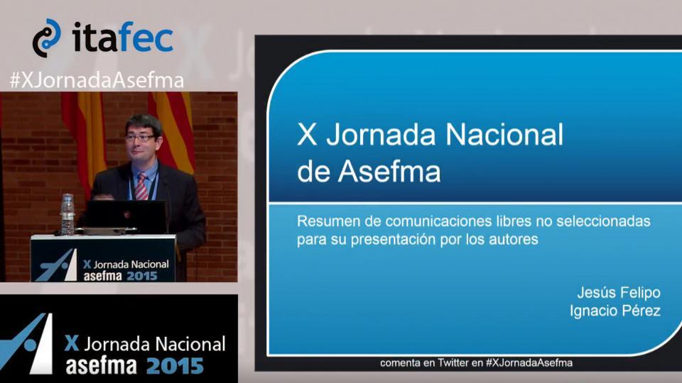 X JN Asefma 2015 - I. Pérez