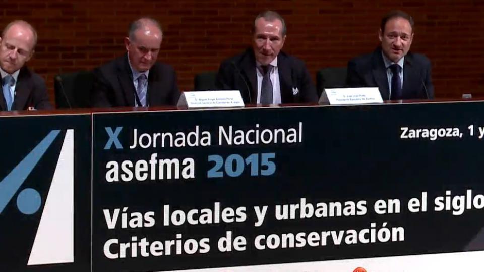 X JN Asefma 2015 - Inauguración