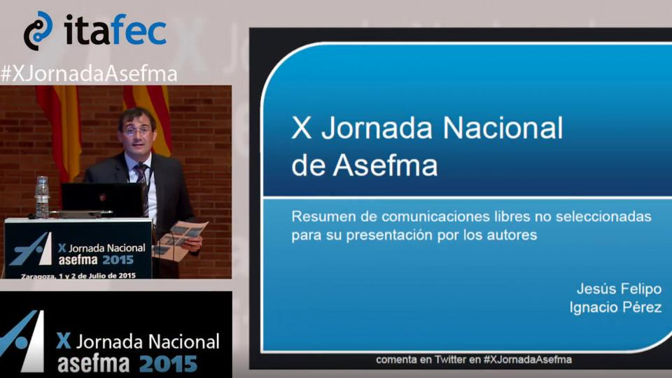 X JN Asefma 2015 - Jesús Felipo