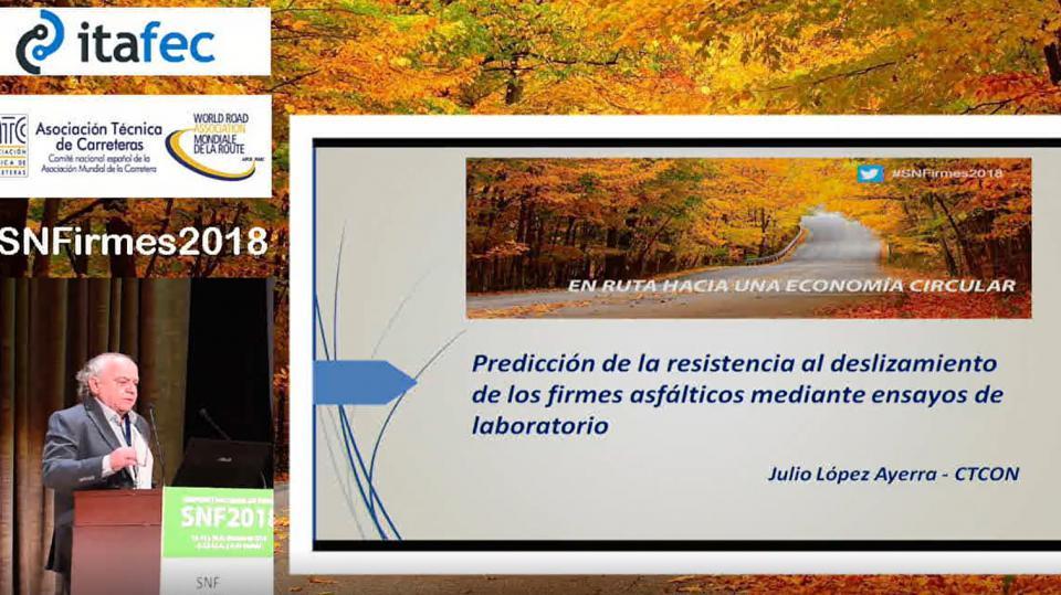 Predicción de la resistencia al deslizamiento de los firmes asfálticos mediante ensayos de laboratorio