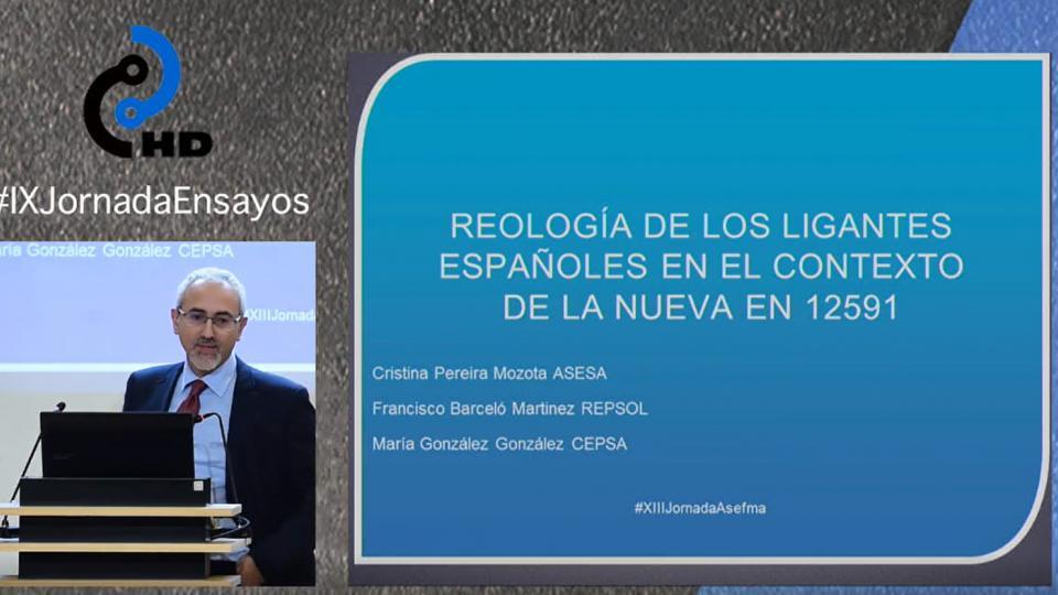 Reología de los ligantes españoles en el contexto de la nueva EN 12591