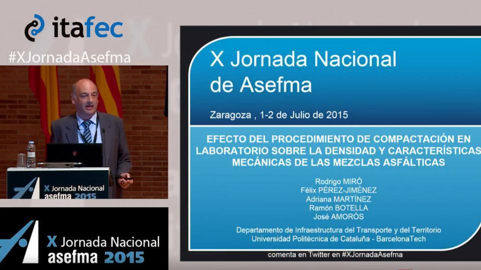 X JN Asefma 2015 - R. Miró