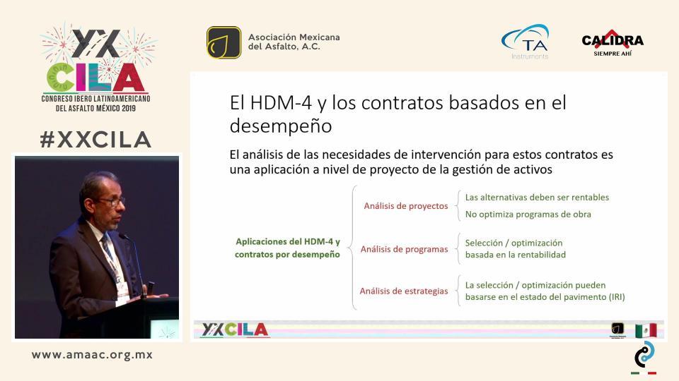 APLICACIÓN DEL HDM-4 EN CONTRATOS DE CONSERVACIÓN POR DESEMPEÑO