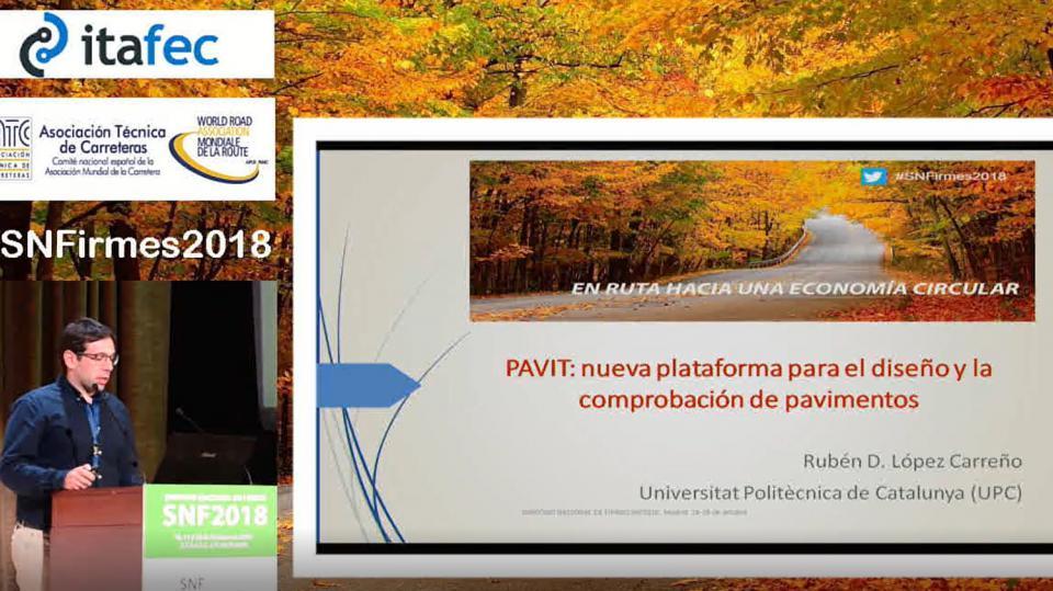 Pavit: nueva plataforma para el diseño y comprobación de pavimentos