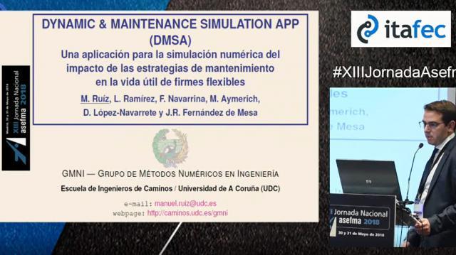 Dynamic&Maintenance Simulation APP (DMSA)