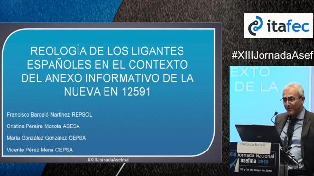 Reología de los ligantes españoles en el contexto del anexo informativo de la nueva EN 12591