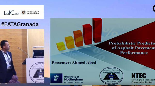 Probabilistic Prediction of Asphalt Pavement Performance