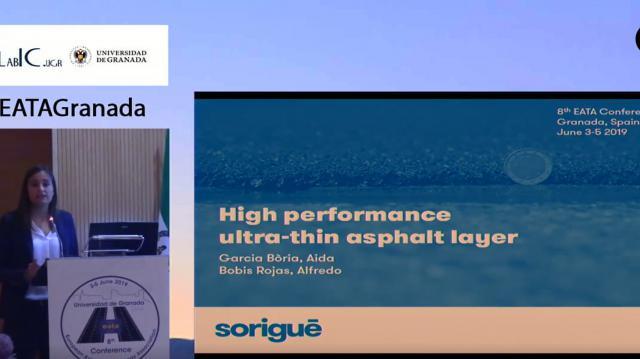 High performance ultra-thin asphalt layer