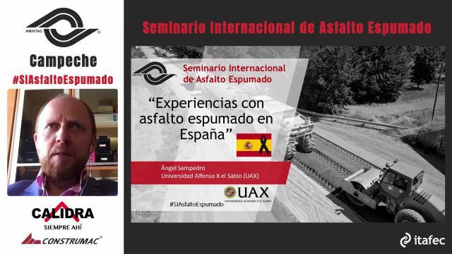 Experiencias con asfalto espumado en España
