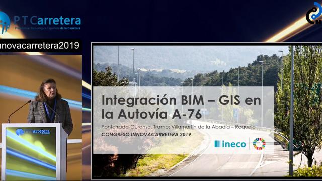 Integración BIM - GIS en la autovía A-76
