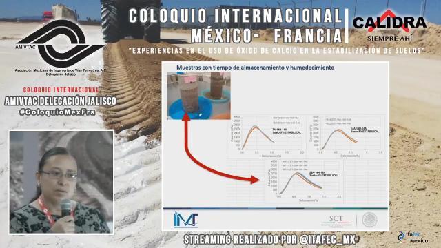 Investigaciones del IMT sobre el uso de óxido de calcio para el mejoramiento de suelo