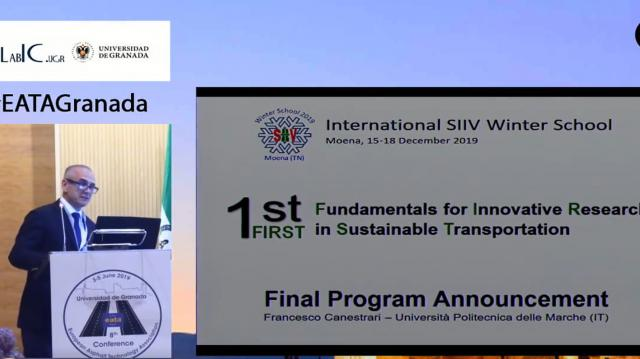 1st Fundamentals for Innovative Research in Sustainable Transportation. Final Program Announcement