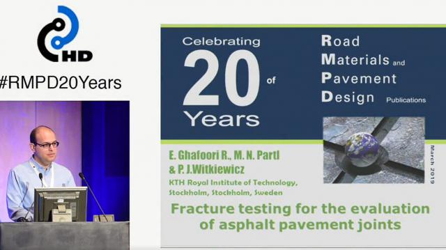 Fracture testing for the evaluation of asphalt pavement joints, volume 14 issue 4