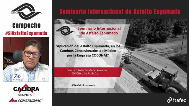 Aplicación del Asfalto Espumado, en los Caminos Concesionados de México por la empresa COCONAL