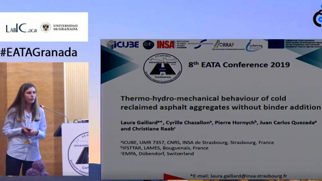 Thermo-hydro-mechanical behaviour of reclaimed asphalt aggregates without binder addition