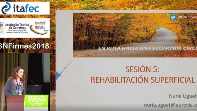 """Presentación de las Comunicaciones de la Sesión 5 """"Soluciones Innovadoras, Materiales y Procesos (III):Rehabilitación Superficial y Conservación Preventiva"""""""