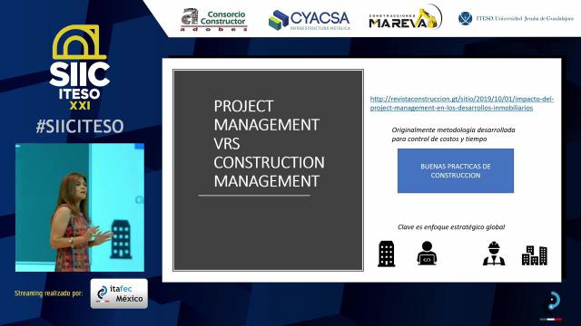 Project Management, los retos y usos en la industria de la construcción
