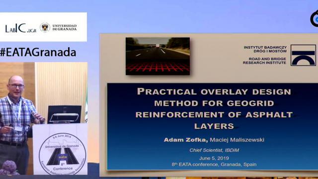 Practical overlay design method for geogrid reinforcement of asphalt layers